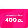 Bon podarunkowy – 400 zł