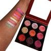 Makeup Revolution Pressed Glitter Palette, Hot Pursuit