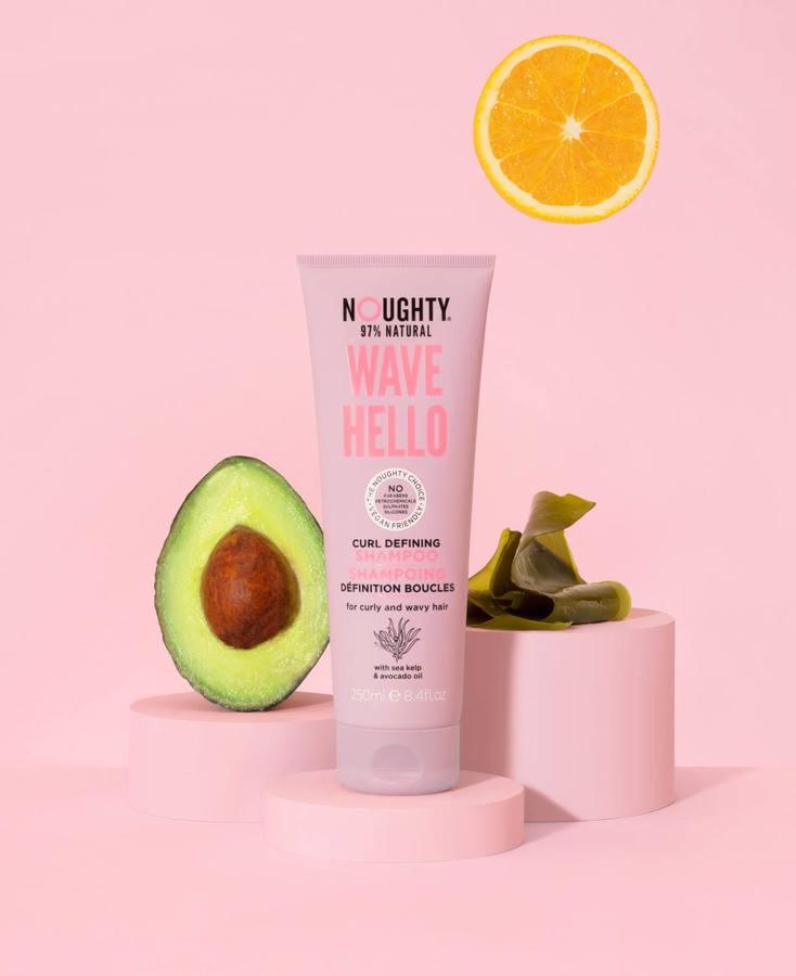 Noughty Wave Hello Shampoo, 250ml