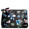 Shelas Makeup Bag Blue Flowers