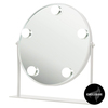 Shelas 5 LED Hollywood Lustro Round White