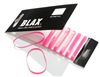 Blax Snag-Free Hair Elastics 4 mm (8 szt.), różowy