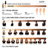 NYX Professional Makeup Total Control Drop Foundation Light TCDF05 (13ml)