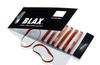 Blax Snag-Free Hair Elastics 4 mm (8 szt.), bursztynowy/brązowy