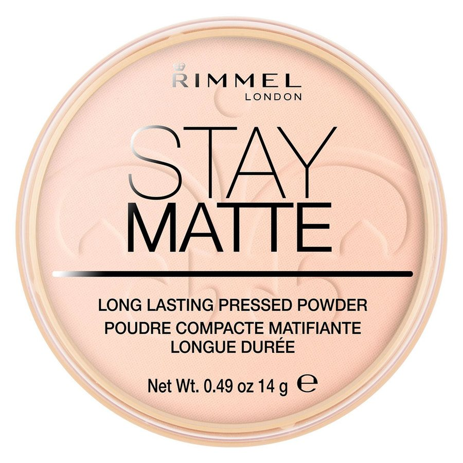 Rimmel London Stay Matte Pressed Face Powder (14 g), #002 Pink Blossom