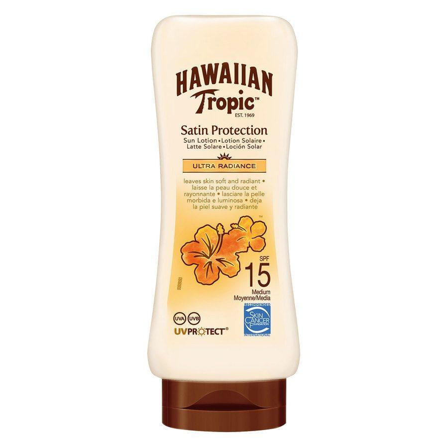 Hawaiian Satin Protection Sun Lotion SPF 15 (180 ml)