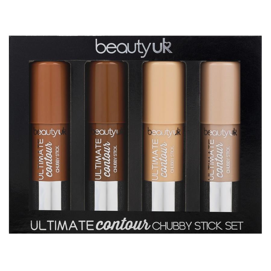 Beauty UK Ultimate Contour Chubby Stick Gift Set (4 szt.)