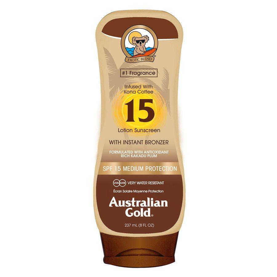 Australian Gold SPF 15 Lotion Bronzer (237ml)