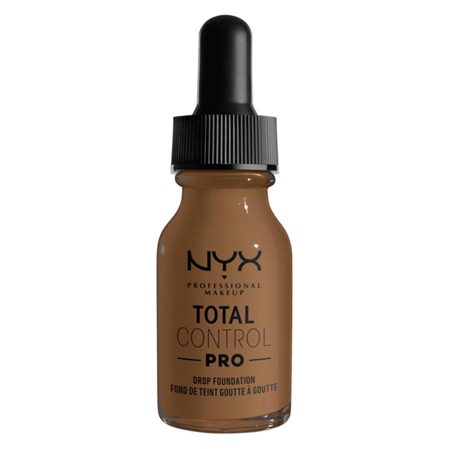 NYX Professional Makeup Total Control Pro Drop Foundation 13ml, Deep Sable