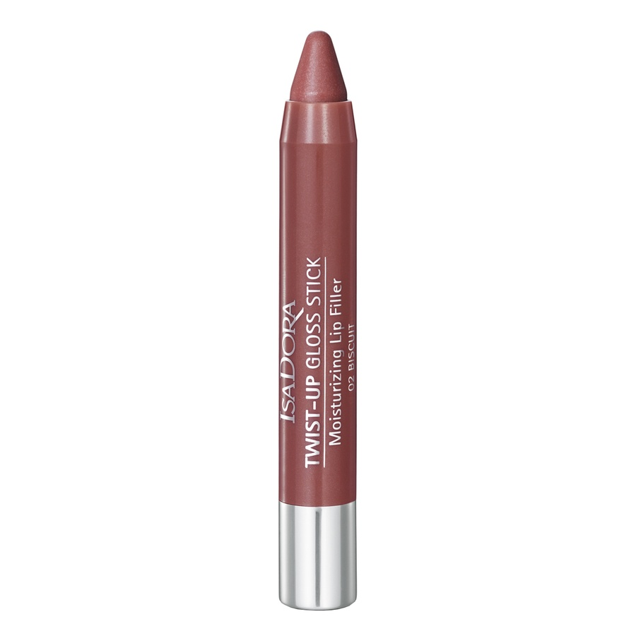 IsaDora Twist-Up Gloss Stick, 02 Biscuit (3,3 g)