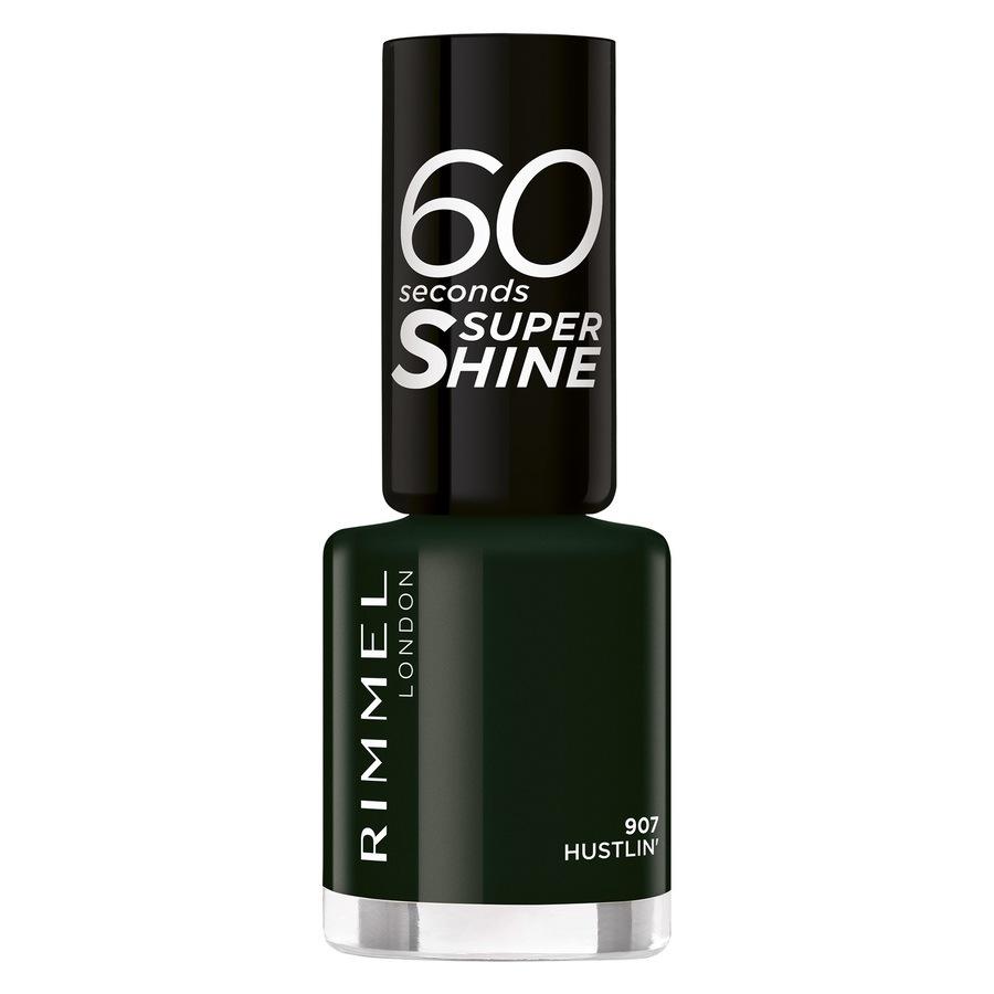 Rimmel London 60 Seconds Super Shine (8ml), 907 Hustlin