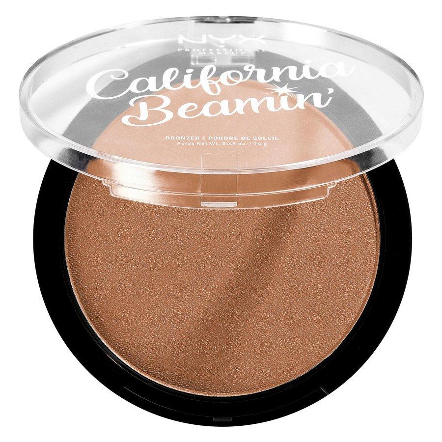 NYX Professional Makeup California Beamin' Face & Body Bronzer (14 g), Sunset Vibes