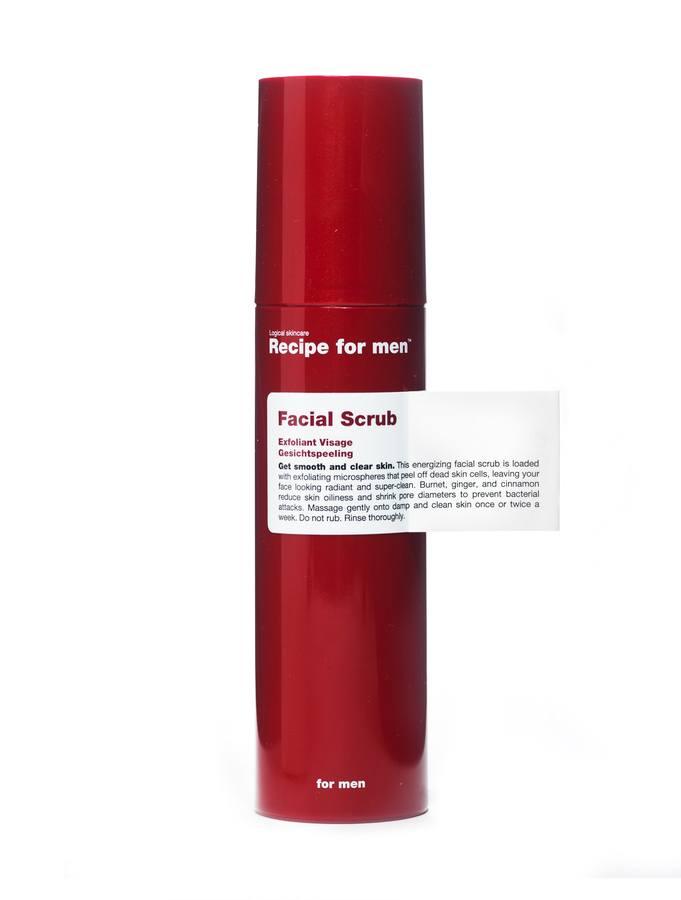 Peeling do twarzy Recipe For Men (100 ml)