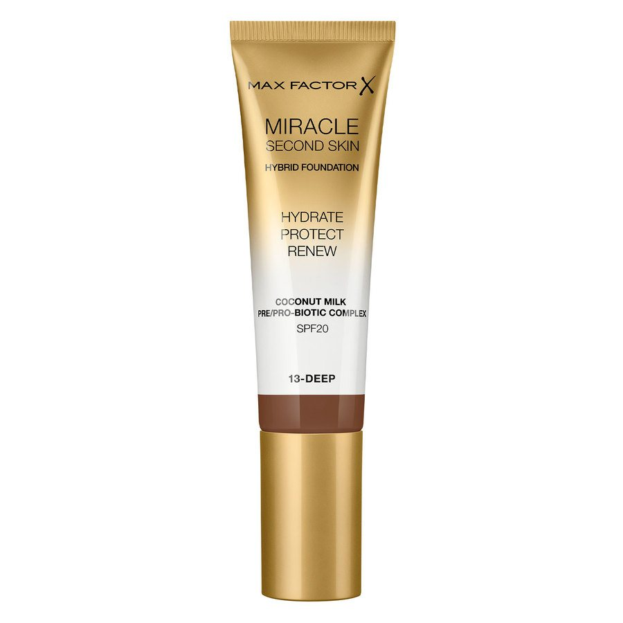 Max Factor Miracle Second Skin Foundation - #013 Deep (33 ml)
