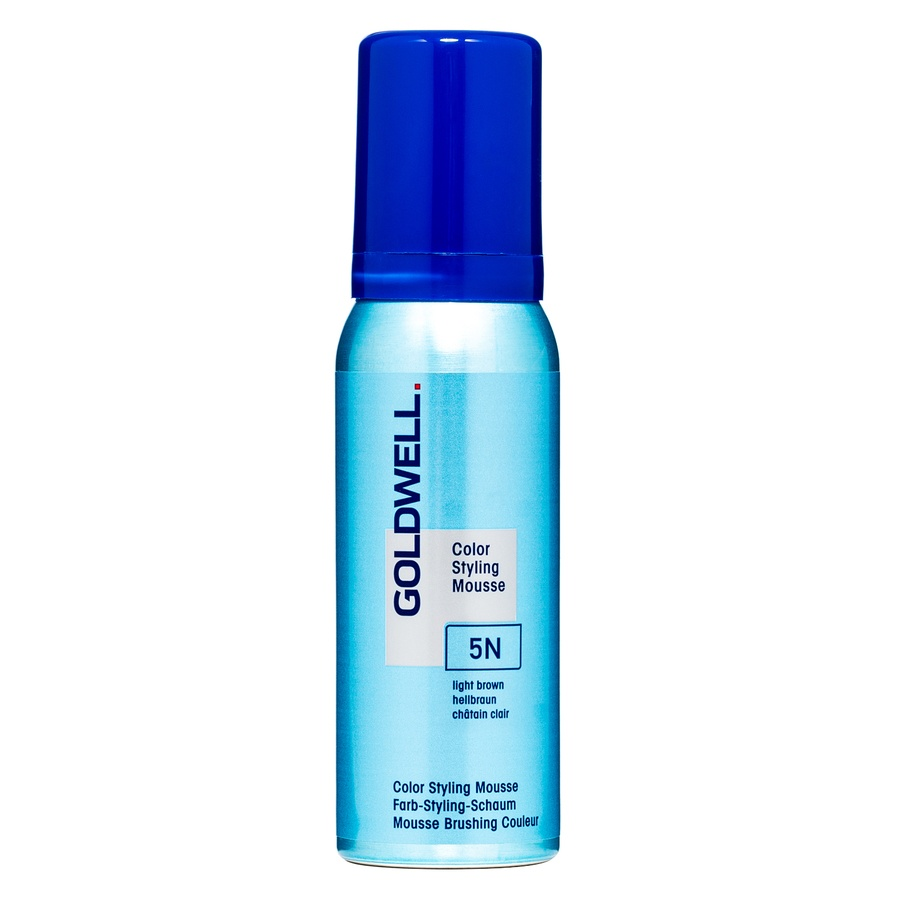 Goldwell Color Styling Mousse, 5N Light Brown (75ml)
