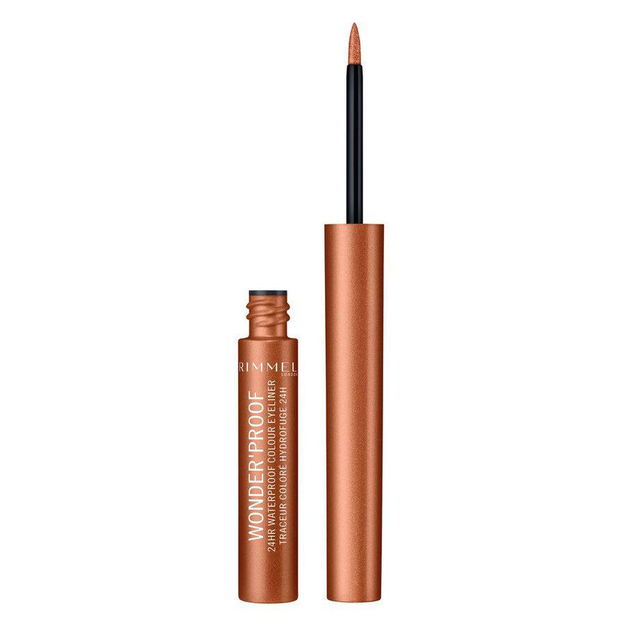 Rimmel London Wonder'Proof Eyeliner (1,4 ml), # 001 True Copper