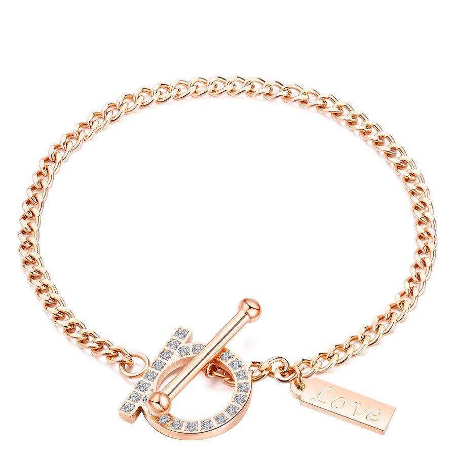 Shelas Bracelet Stainless Steel Rosegold