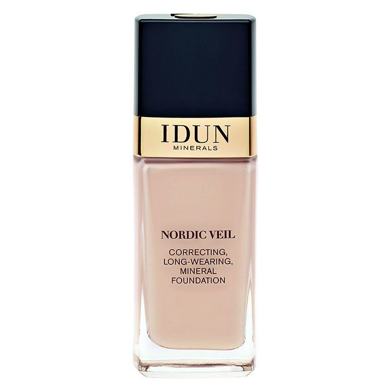IDUN Minerals Nordic Veil Correcting Long Wearing Mineral Foundation 26ml, Freja