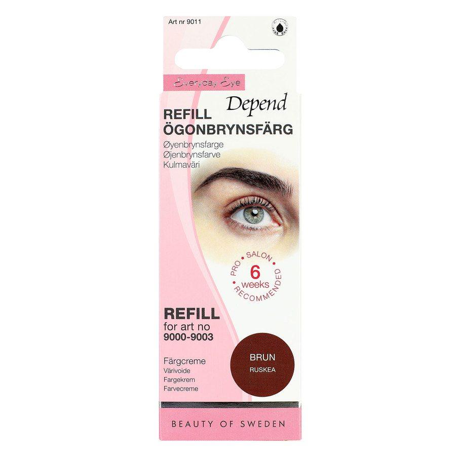 Depend Eyebrow Colour Refill, Brown