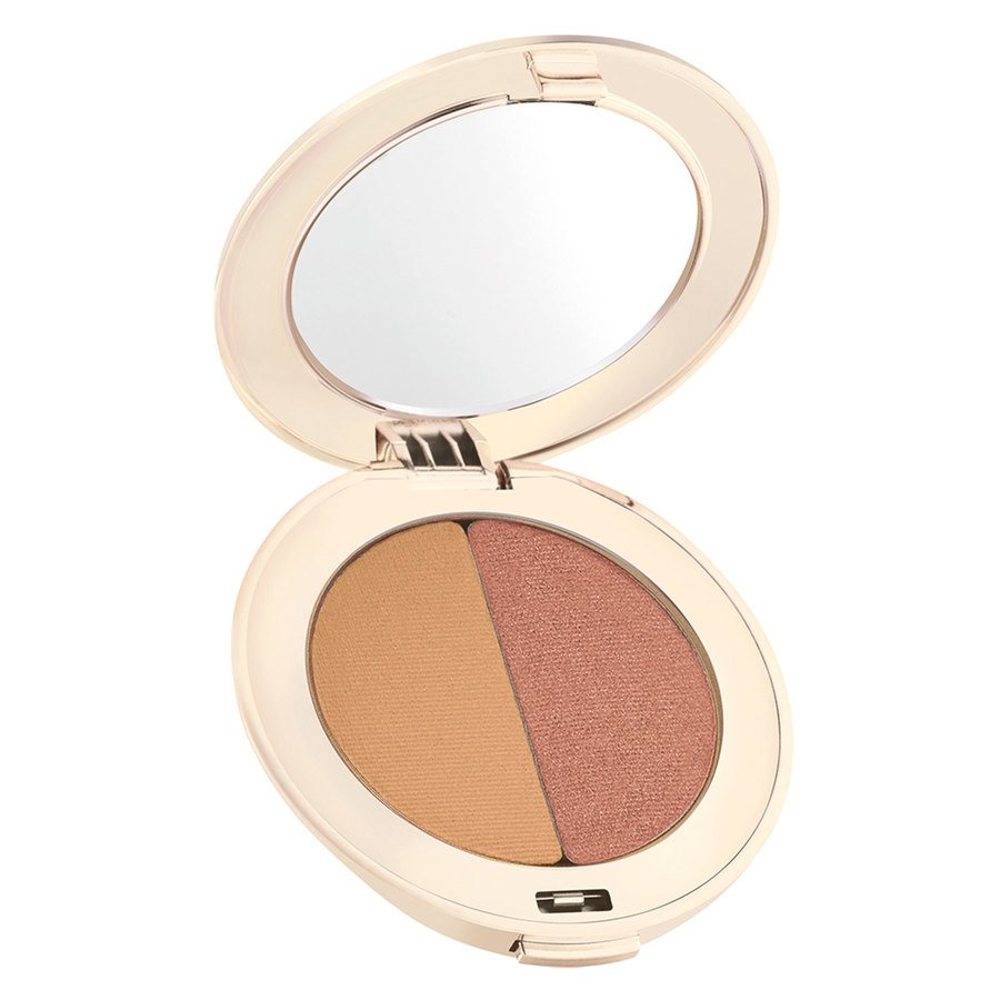 Jane Iredale PurePressed Duo Eye Shadow 2,8g, Golden Peach