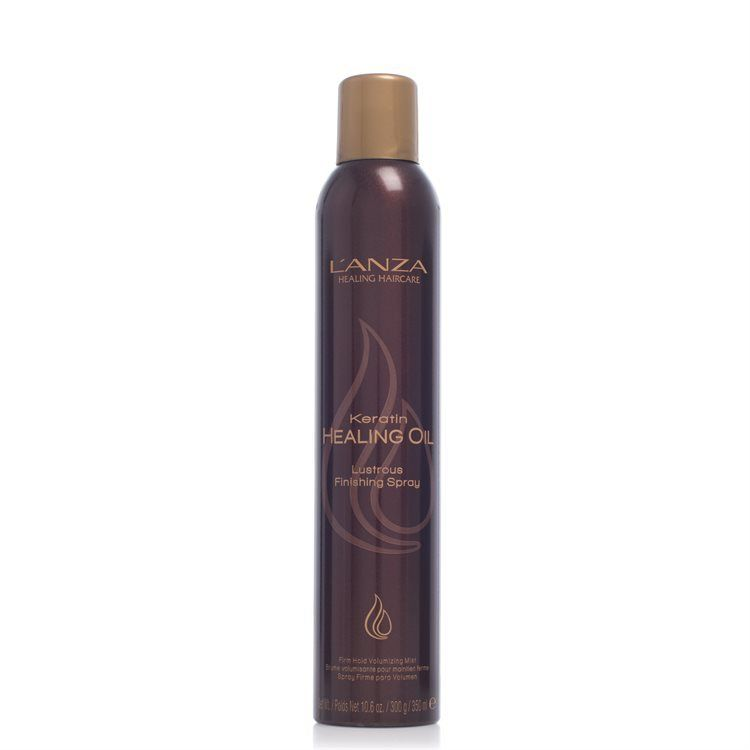 Lakier do włosów L'anza Keratin Healing Oil Lustrous Finishing Spray (350ml)