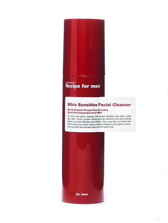 Recipe For Men Ultra Sensitive Facial Cleanser (100 ml)