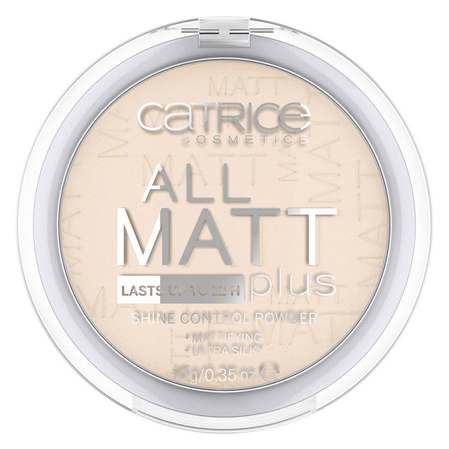 Catrice All Matt Plus Shine Control Powder 10g, 010 Transparent
