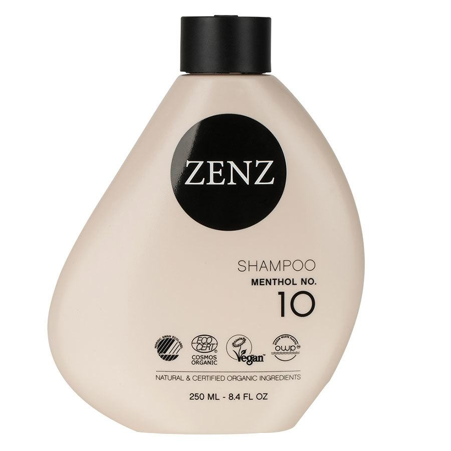 Zenz Organic No. 10 Menthol Shampoo 250ml