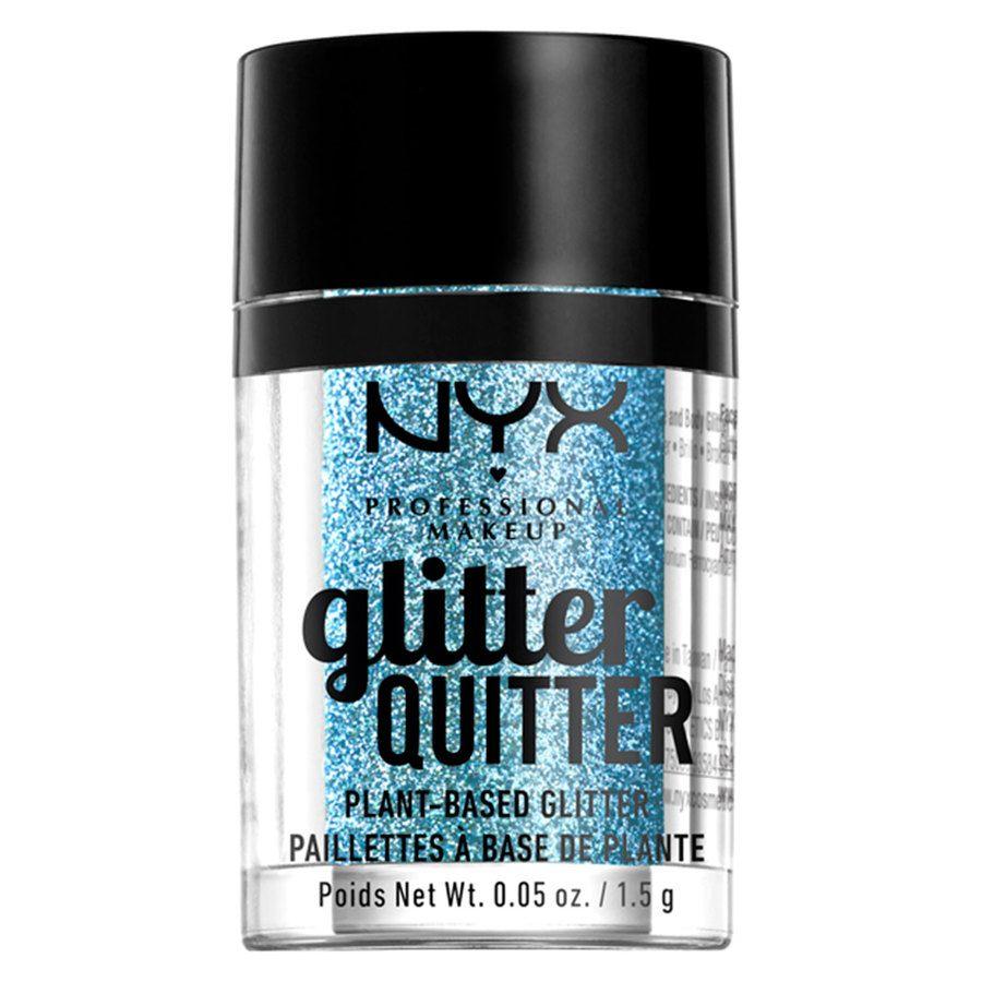 NYX Professional Makeup Glitter Quitter Plant Based Glitter Blue (1,5 g)