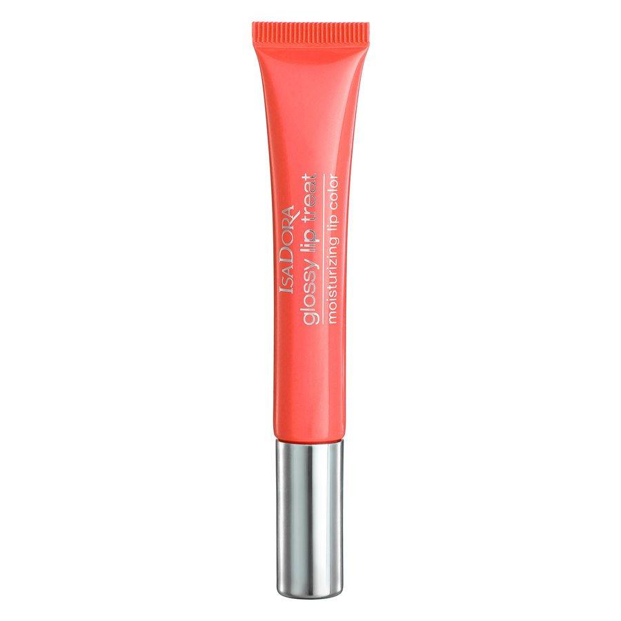 IsaDora Glossy Lip Treat (13ml), #60 Coral Rush