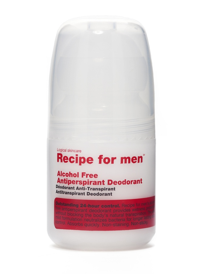 Recipe For Men Alcohol Free Antiperspirant Deodorant 60ml