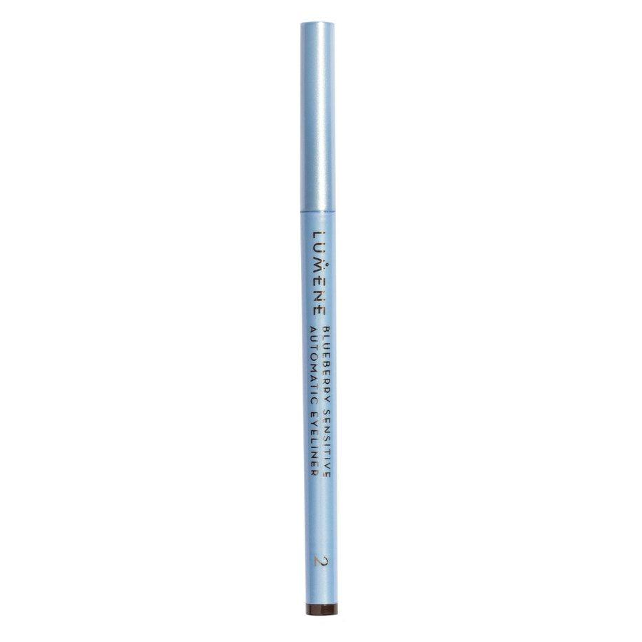 Lumene Blueberry Sensitive Automatic Eyeliner, 2 Brown 0,35 g