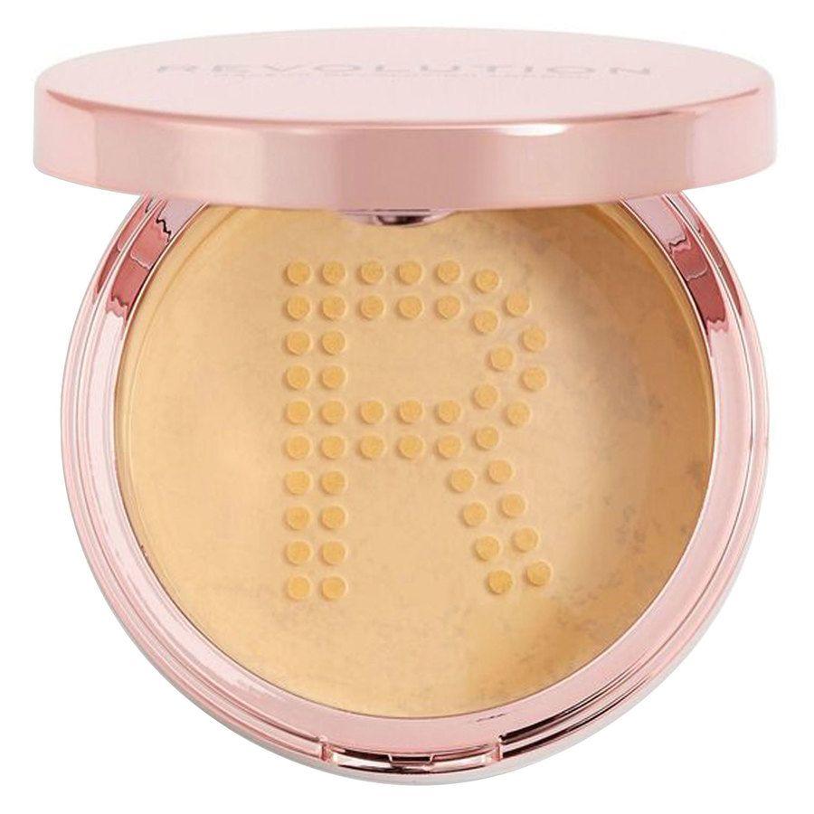 Makeup Revolution Conceal & Fix Setting Powder Deep Yellow (13 g)