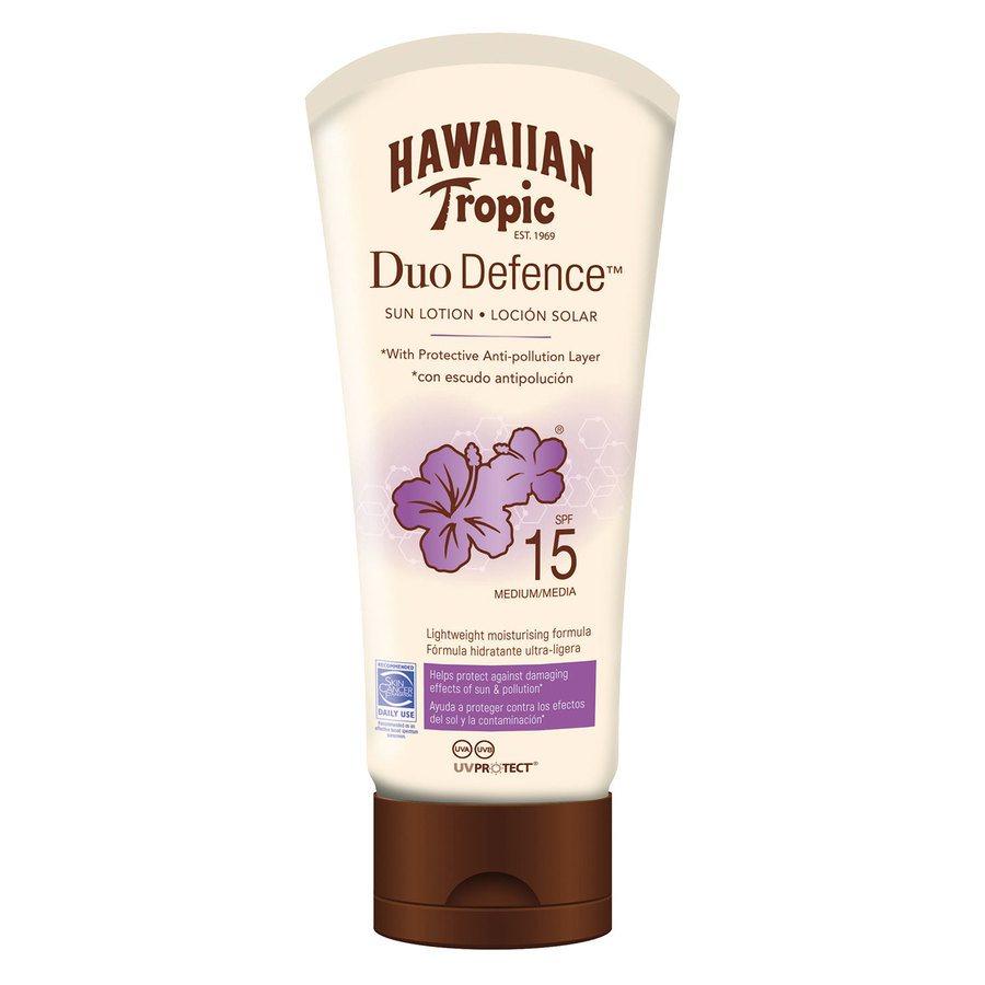 Hawaiian DuoDefence Sun Lotion SPF 15 (180 ml)