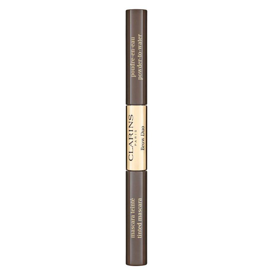 Clarins Brow Duo (2,8 g), 05 Dark Brown