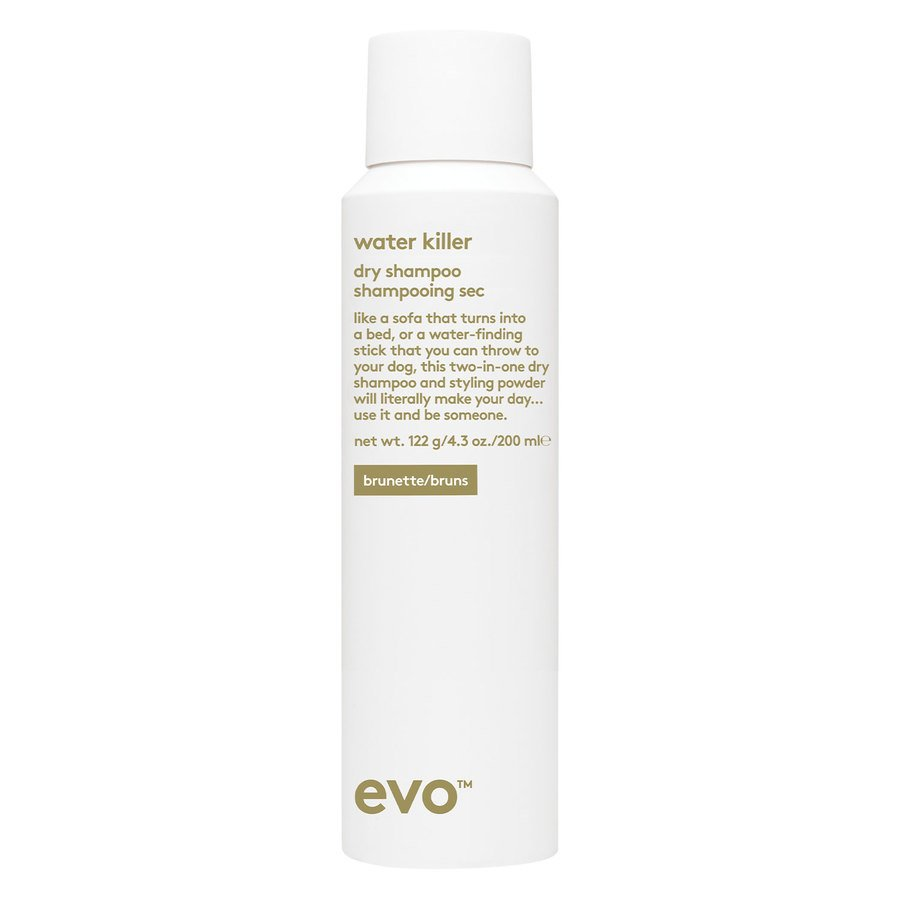 Evo Water Killer Dry Shampoo (200 ml) ─ Brunette