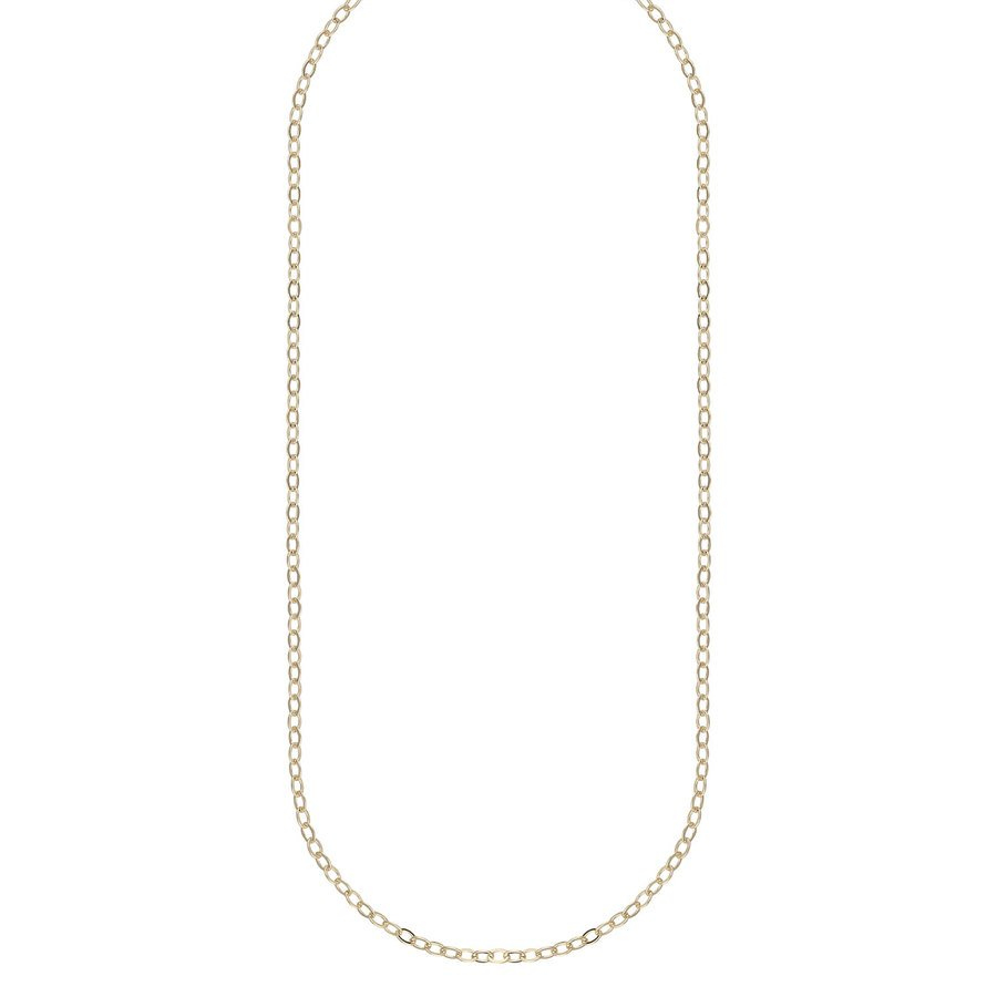 Snö Of Sweden Chase True Small Necklace, 50 Plain Gold