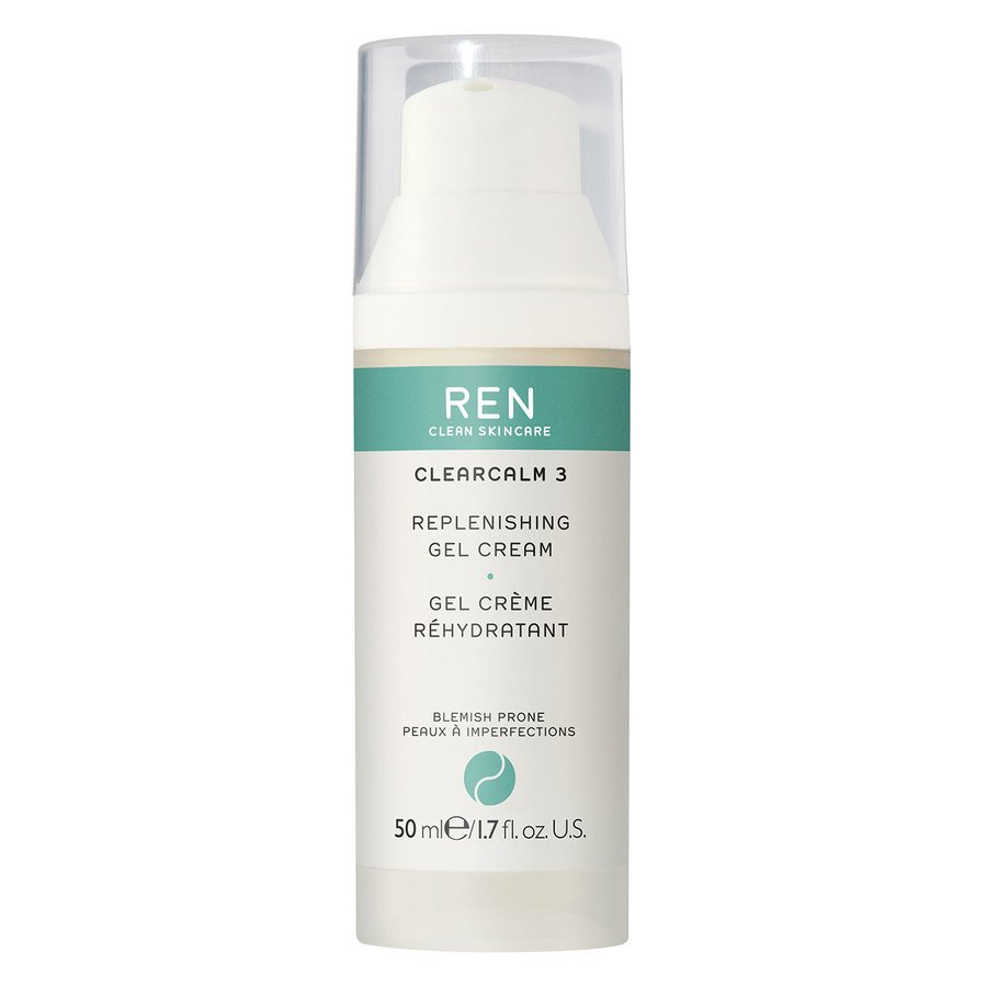 REN Clean Skincare Clearcalm 3 Replenishing Gel Cream (50 ml)