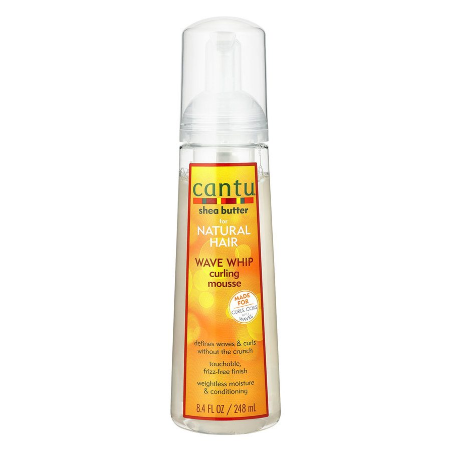 Cantu Shea Butter For Natural Hair Wave Whip Curling Mousse (248 ml)