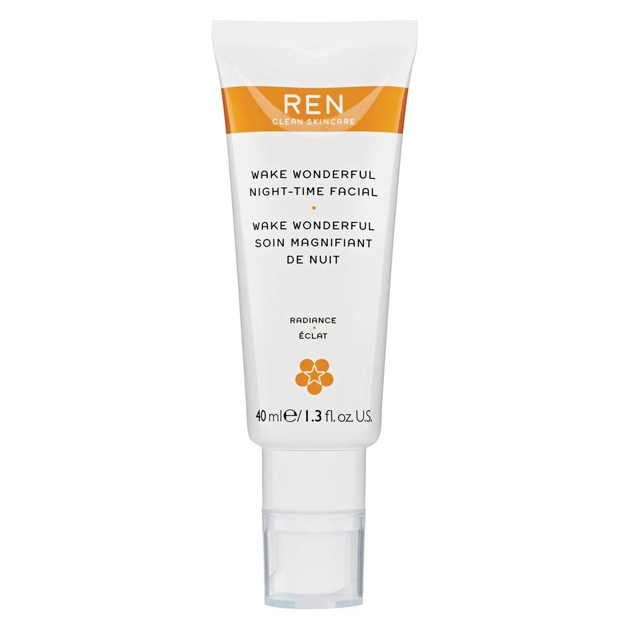 REN Clean Skincare Wake Wonderful Night-Time Facial (40 ml)