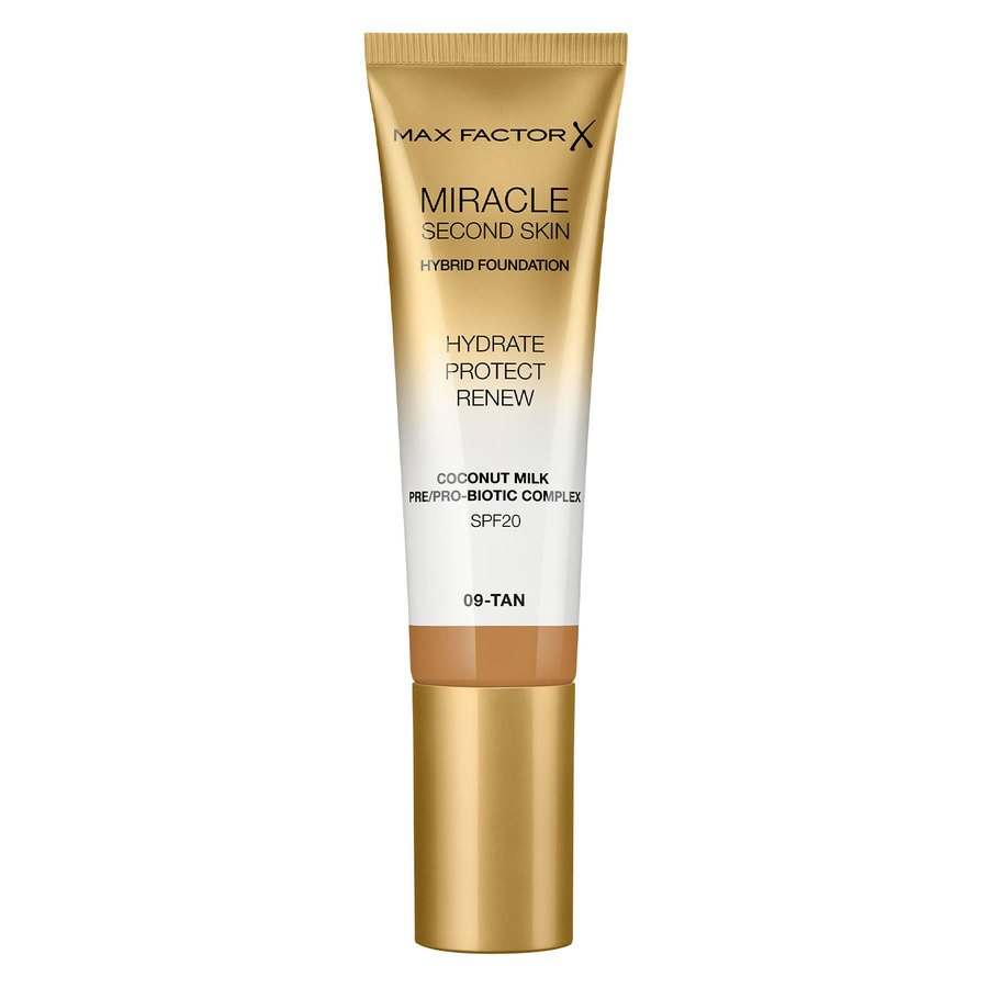 Max Factor Miracle Second Skin Foundation - #009 Tan (33 ml)