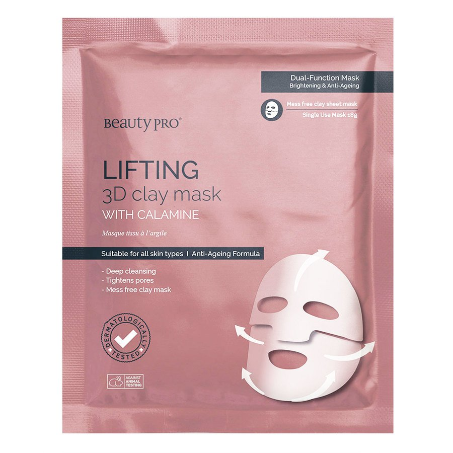 BeautyPro Lifting 3D Clay Sheet Mask 18g