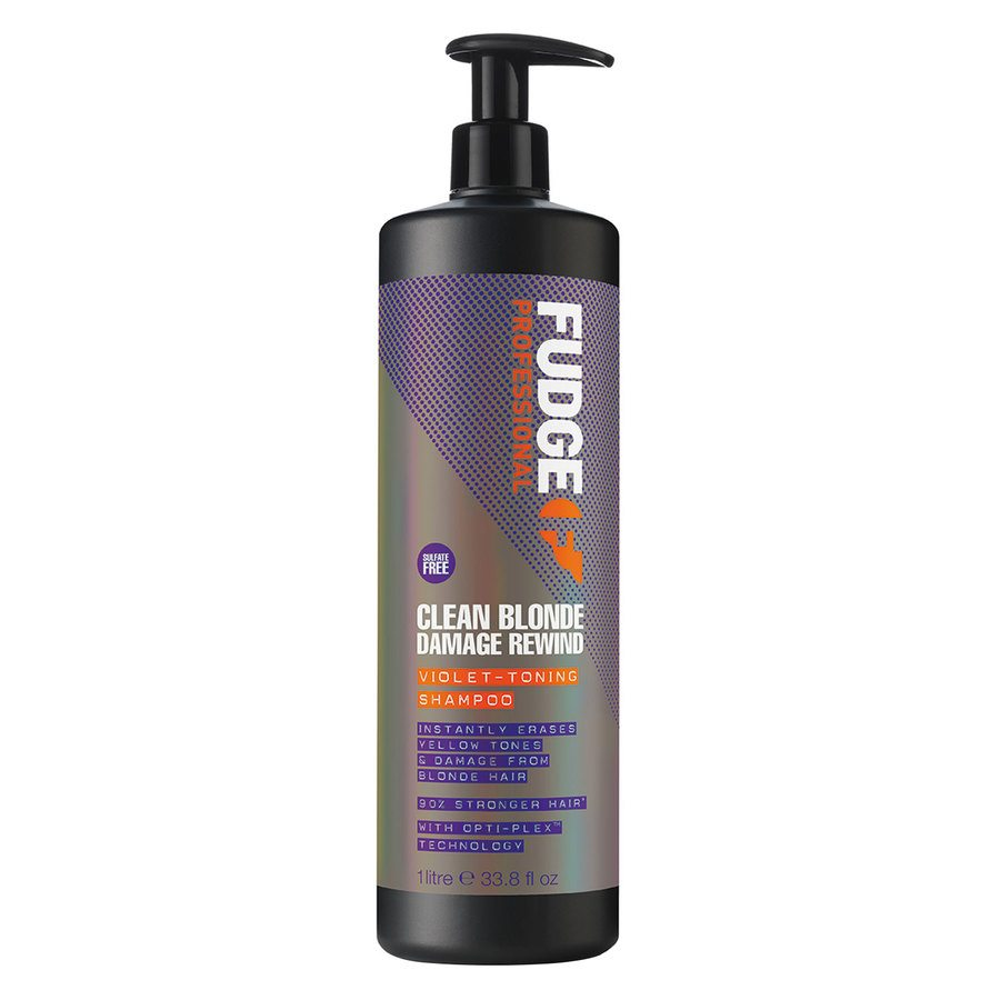 Fudge Clean Blonde Violet Damage Rewind Szampon (1000 ml)