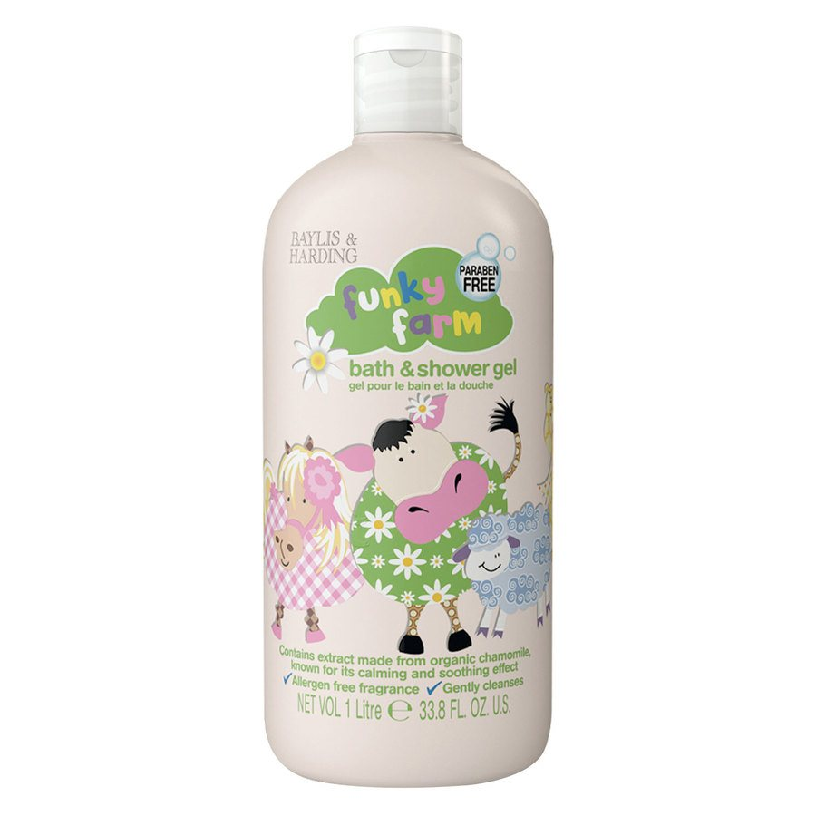Baylis & Harding Funky Farm Bath & Shower Gel (1000 ml)
