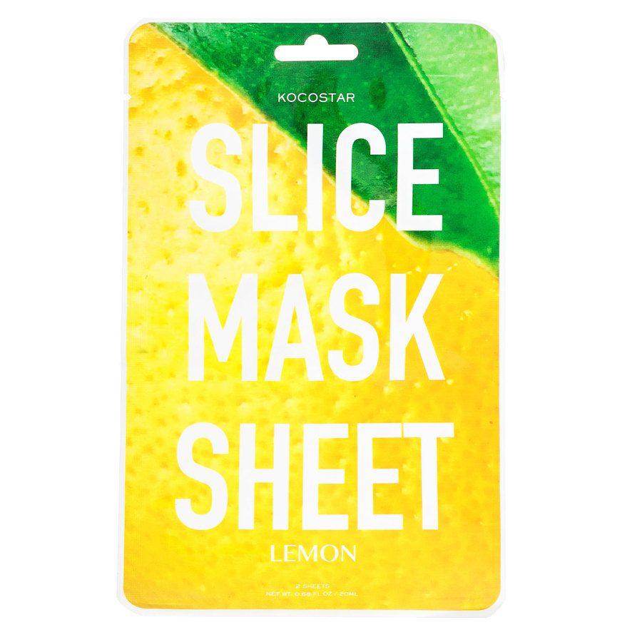 Kocostar Slice Mask Sheet, Lemon