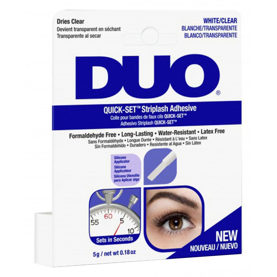 Duo Quick Set Adhesive Brush Clear (5 g)