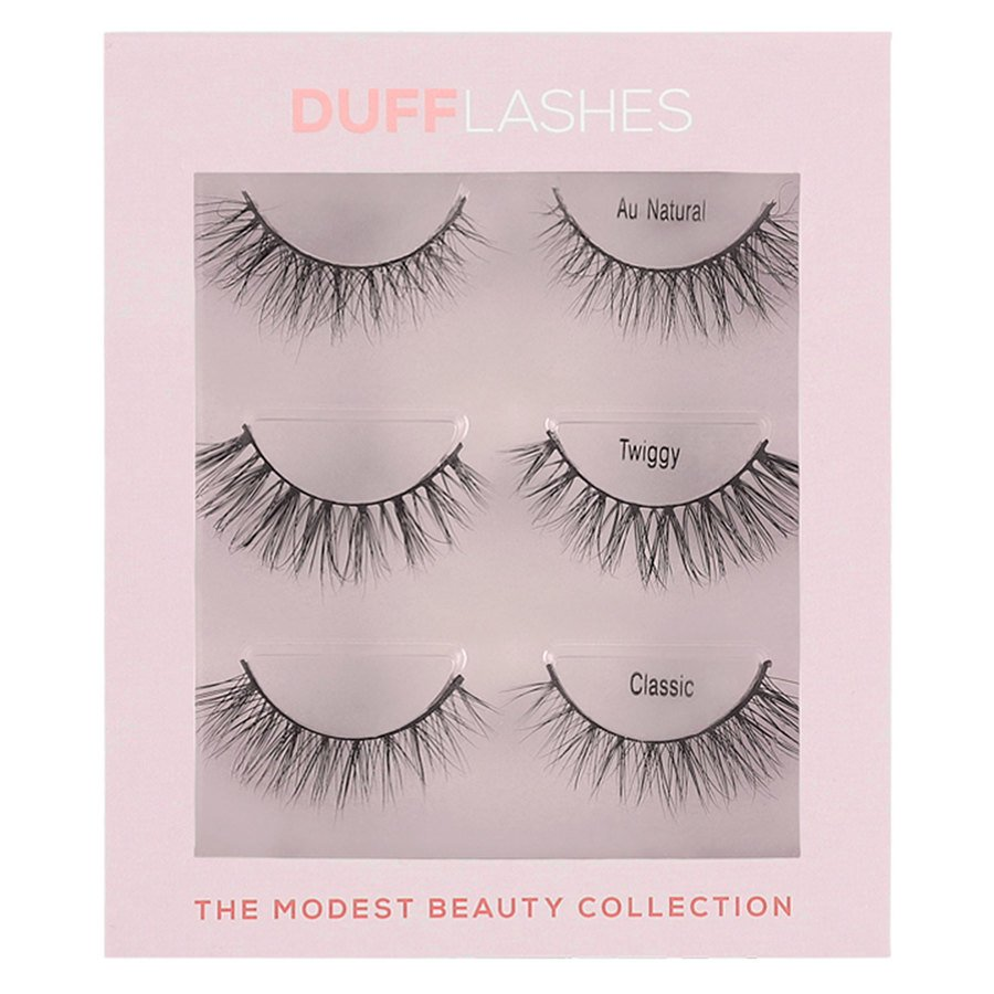 DUFFLashes The Modest Beauty Collection 3 pary