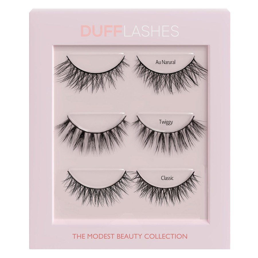 DUFFBeauty The Modest Beauty Collection 3 pary
