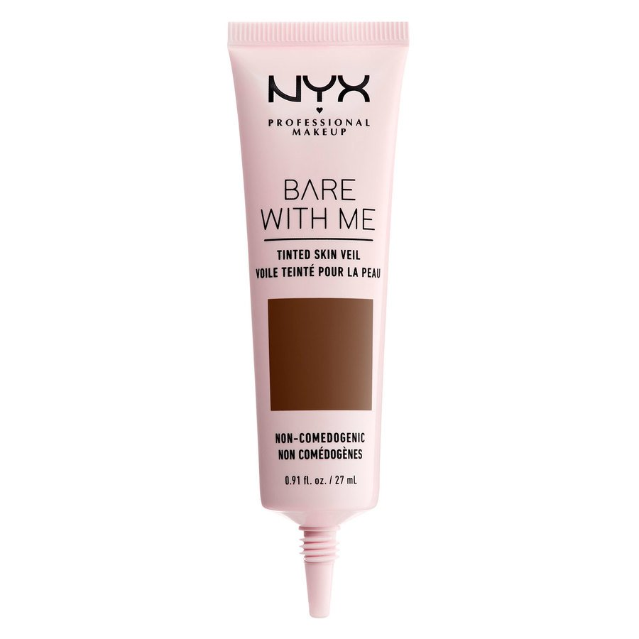 NYX Professional Makeup Bare With Me Tinted Skin Veil (27 ml), Deep Rich