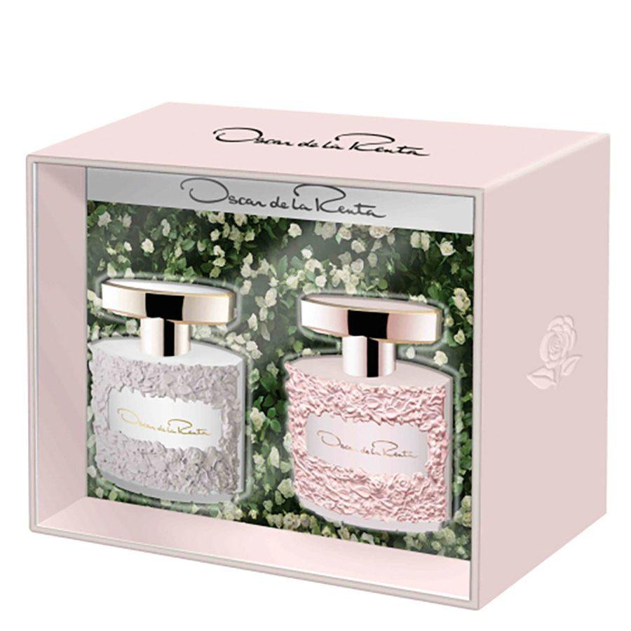 Oscar de la Renta Gift Set Mini Bella Blanca / Pink 2 x 5 ml